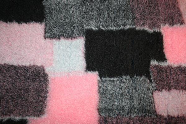 Komforttrockenbett Pink-Patchwork