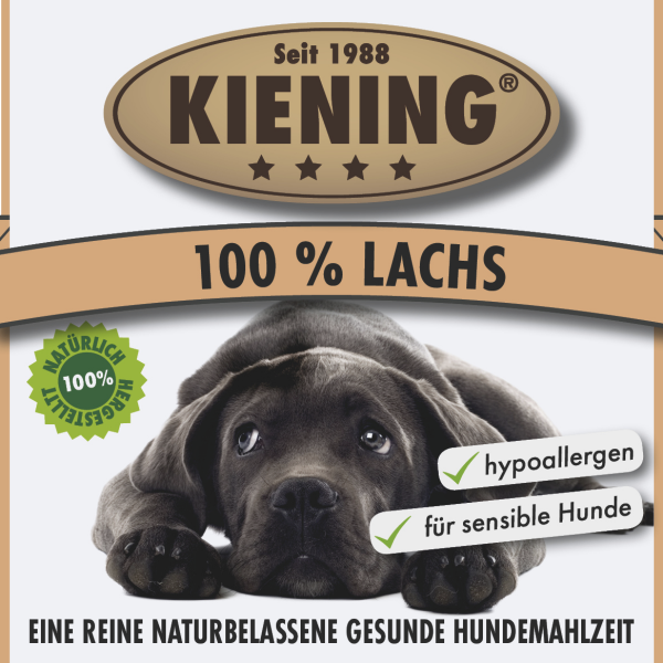 100% Lachs 410g-Dose