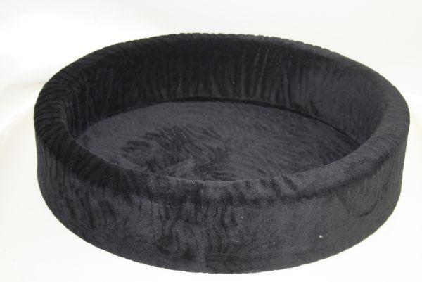 Teddybett Sonderaktion Welle schwarz