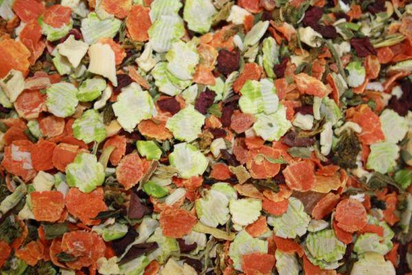 Gemüse-Obst-Mischung